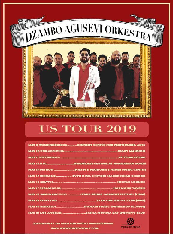Džambo Aguševi Okestra Tour 2019 - Voice of Roma